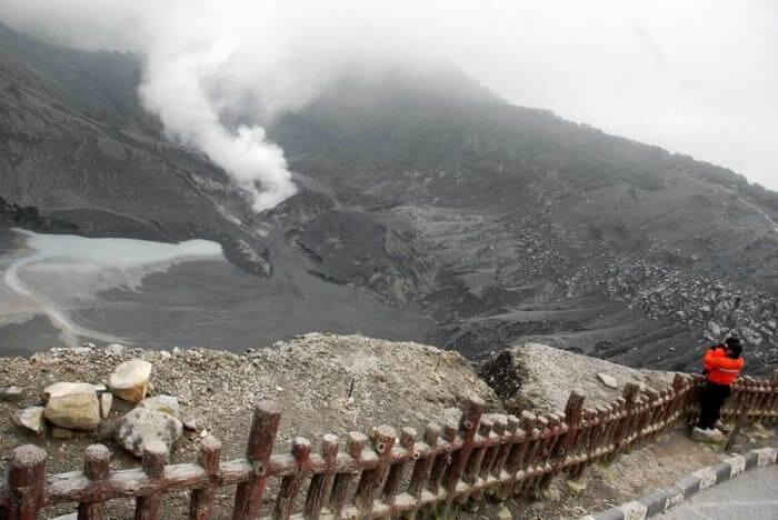 Liburan Seru Ke Gunung Tangkuban Perahu Jawa Barat
