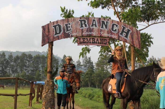 Objek Wisata Alam De Ranch Lembang Yang Menyenangkan